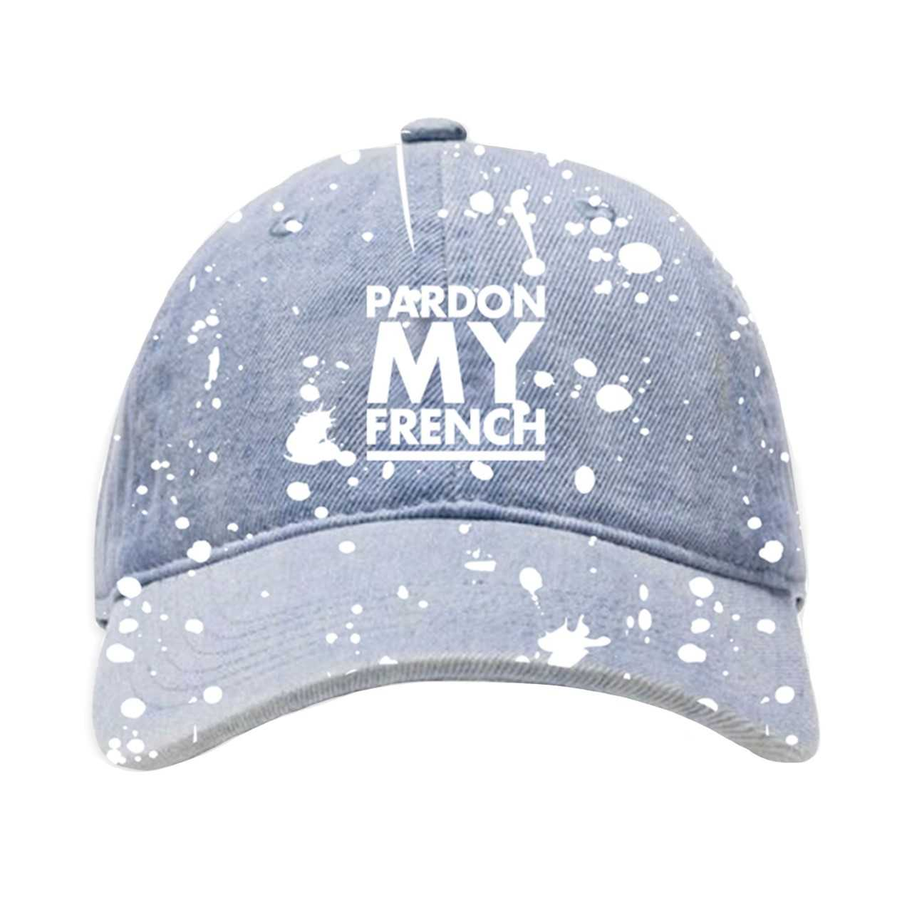 PARDON MY FRENCH DENIM HAT