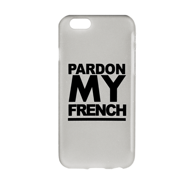 PMF IPHONE CASE CLEAR