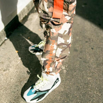PARDON MY FRENCH CAMO PANTS