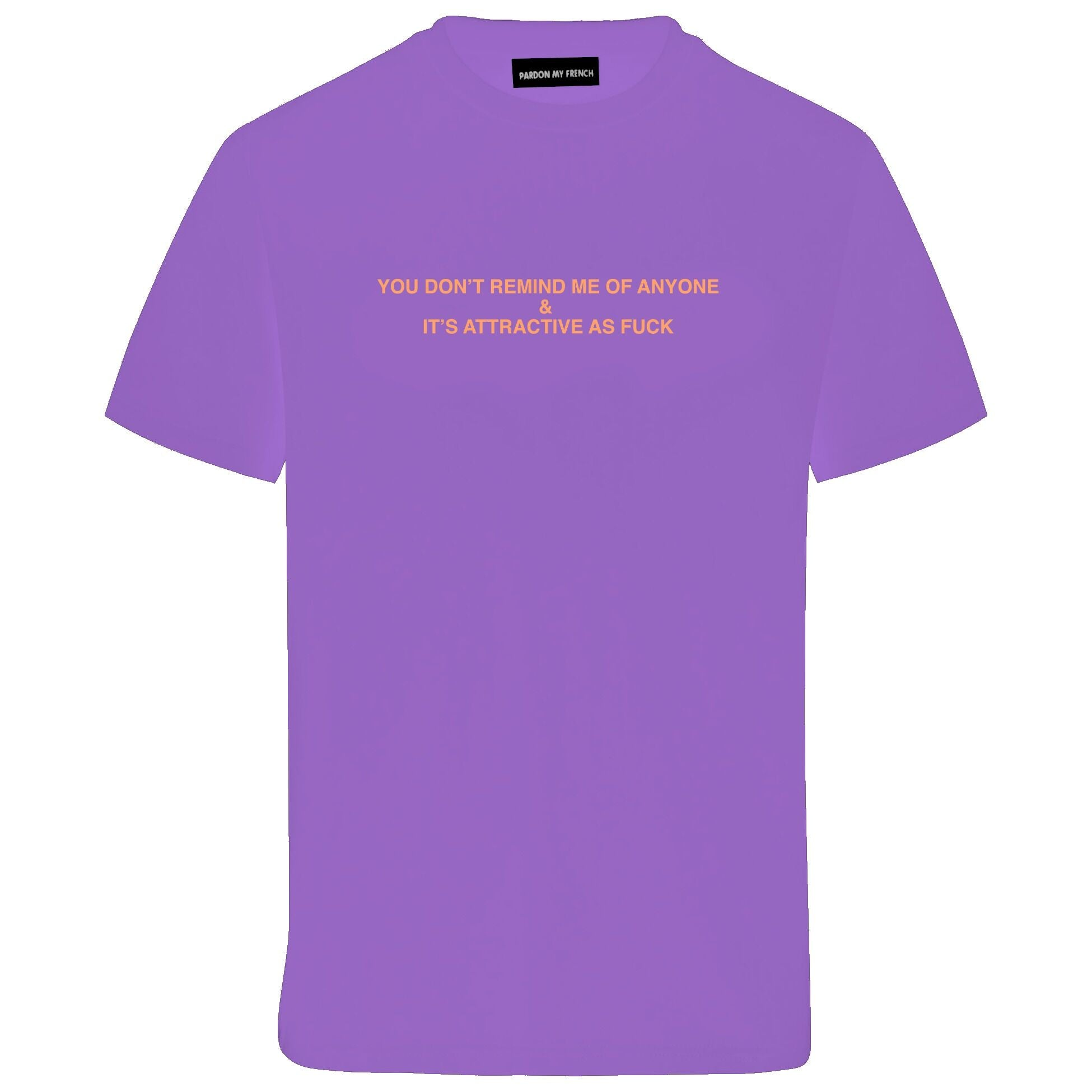 TSHIRT ATTRACTIVE PURPLE PURPLE