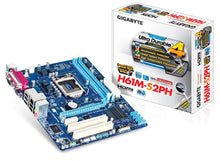 Load image into Gallery viewer, Gigabyte GA-H61M-S2PH (rev. 1.1) Intel H61 Express Chipset Motherboard