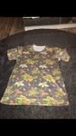 Patterned t-shirt size -XS