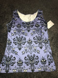 Hunted mansion tank top/ vest top size -M