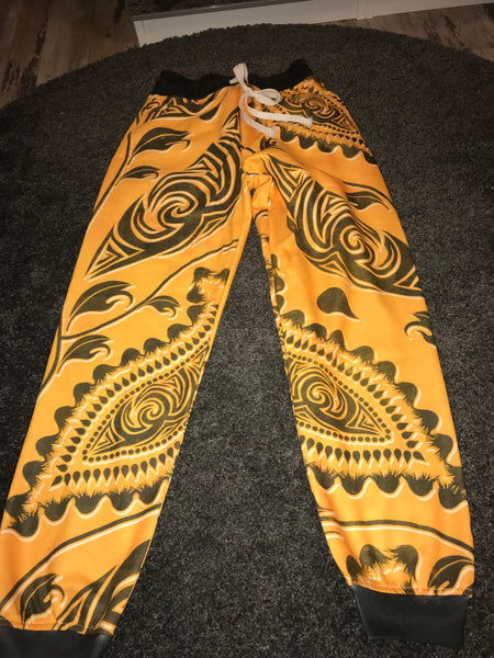 Yellow jogging bottoms size-M