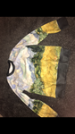 Water painting jumper/sweatshirt Size-S