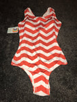 Chevron red swimsuit size-M