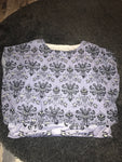 Haunted mansion baggy short sleeve blouse size - L