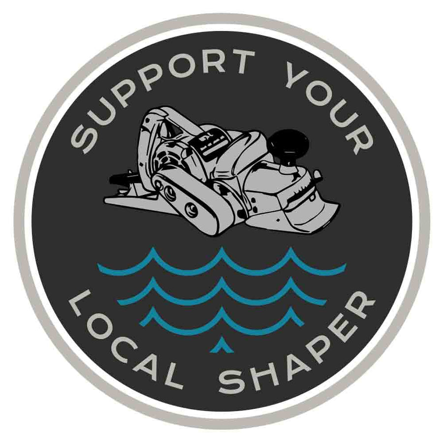 Support Your Local Shaper Circle Sticker