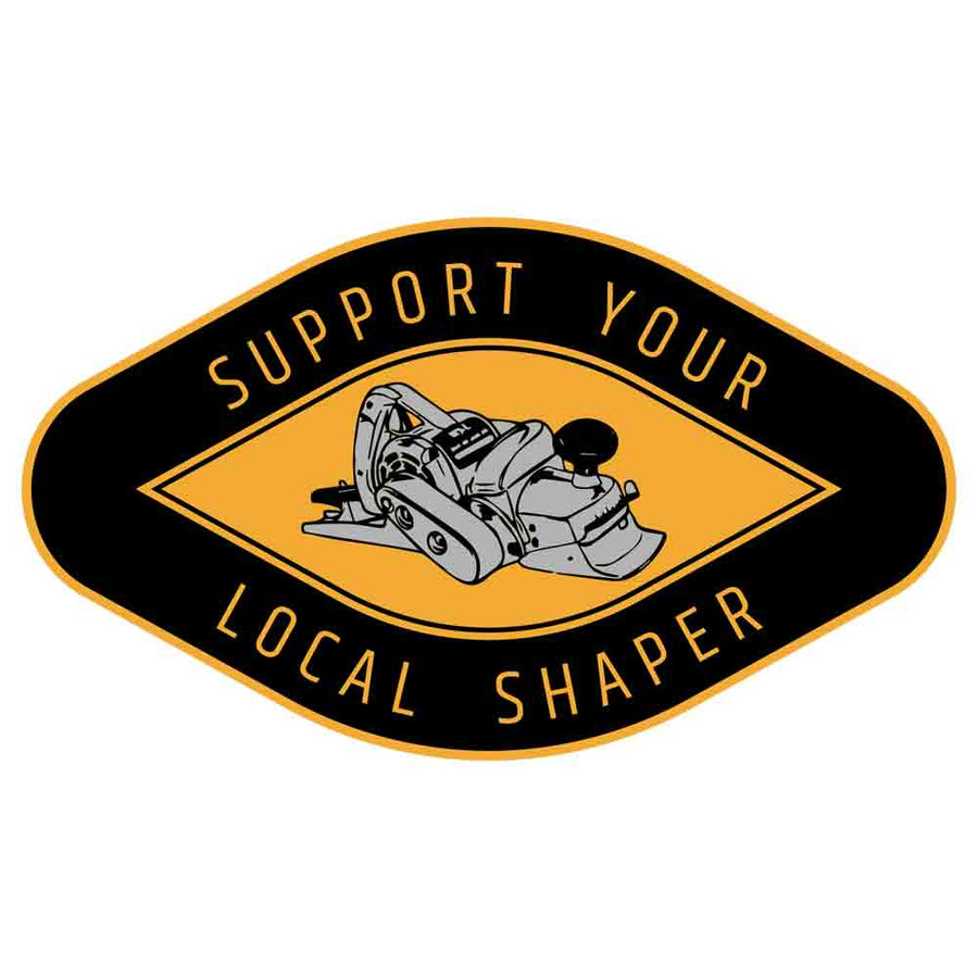 Support Your Local Shaper Sticker 5 Pack