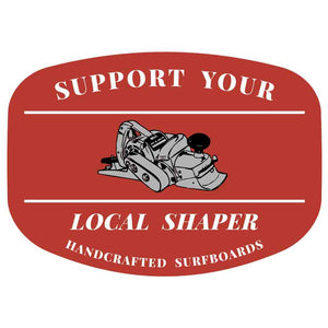Support Your Local Shaper Rectangle Sticker