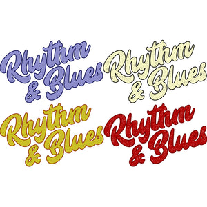 Rhythm & Blues Sticker 4 Pack