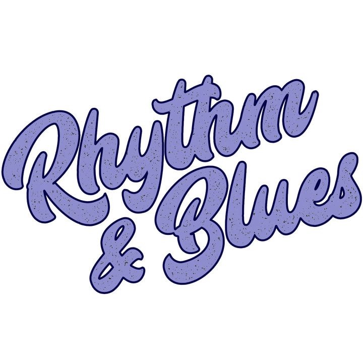 Rhythm & Blues Blue Sticker