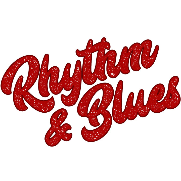 Rhythm & Blues Red Sticker