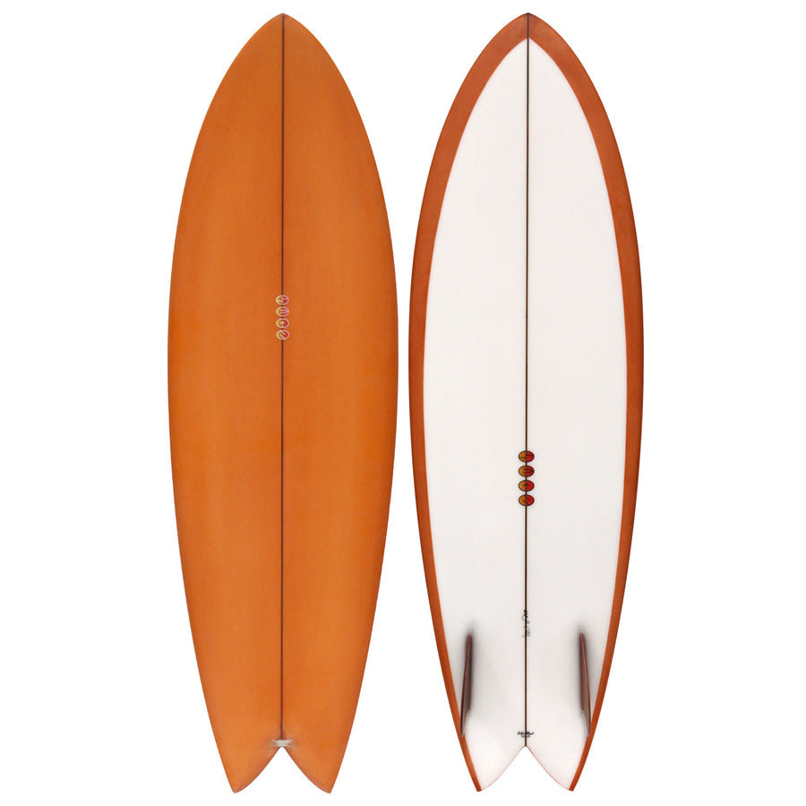 "Calico Fish 6'0"" Surfboard"