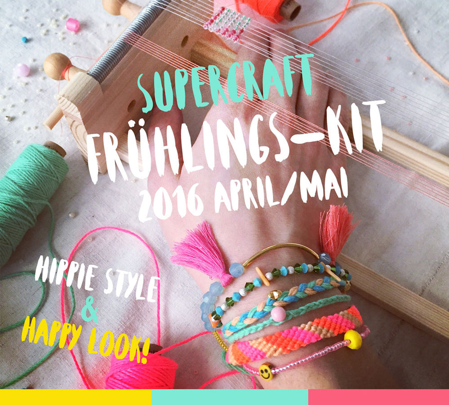 supercraft Frühlings-Kit 2016.