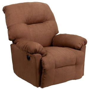 Flash Furniture AM-CP9350-2550-GG Contemporary Calcutta Chocolate Microfiber Power Chaise Recliner with Push Button