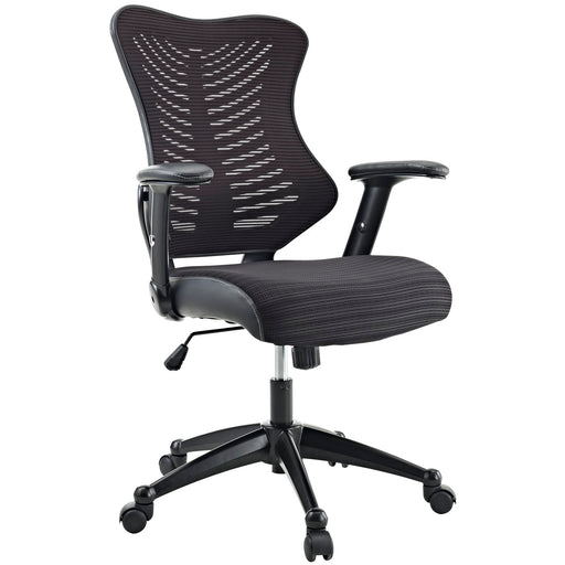 Clutch Office Chair in Black by Modway
