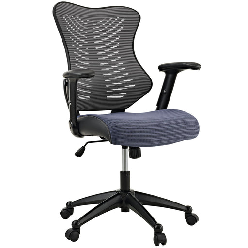 Clutch Office Chair in Gray by Modway