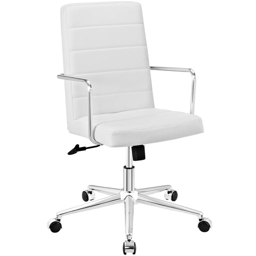 Cavalier Highback Office Chair in White by Modway