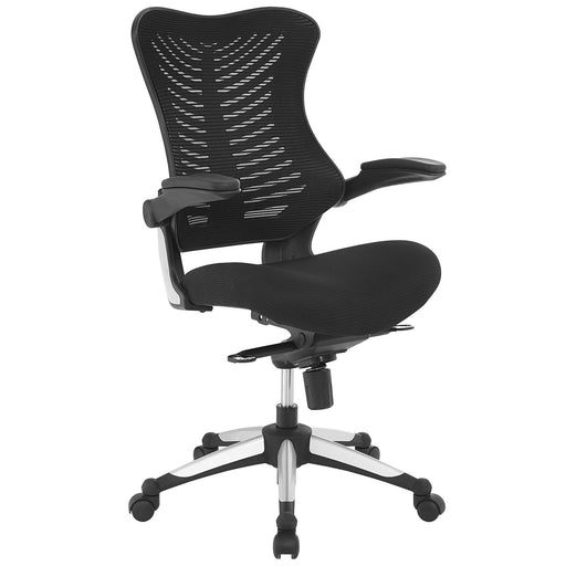 Charge Office Chair in Black by Modway