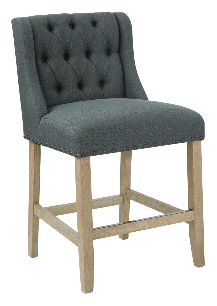 Ave Six Sb521 K26 Kate 24 Quot Counter Stool In Charcoal