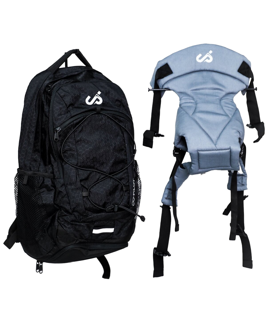 Co-Pilot Day Pack, Baby Carrier and Parenting Bag  - Black