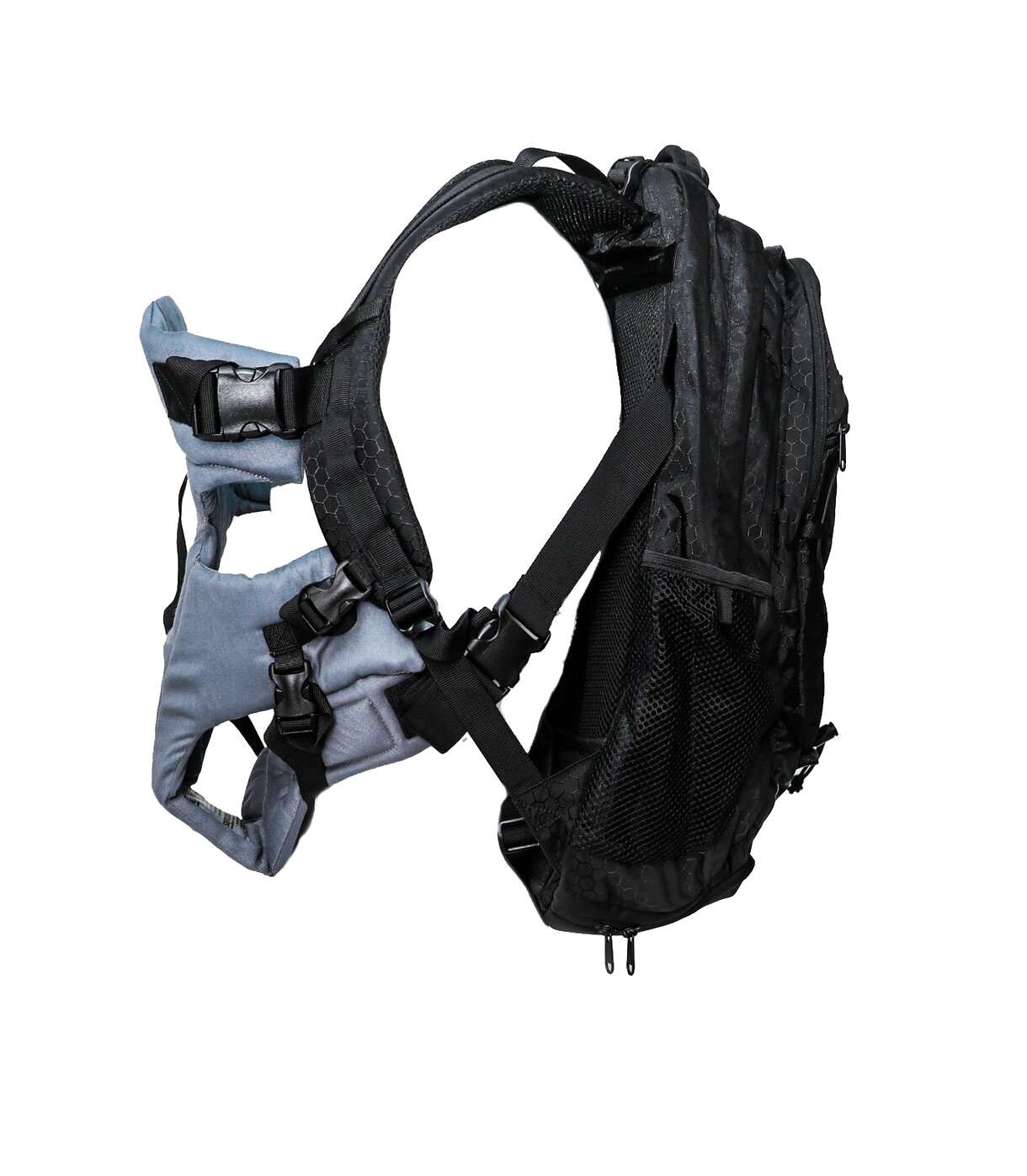 CoPilot CarrierPak - Baby Carrier, Parenting Bag and Day Pack - Black