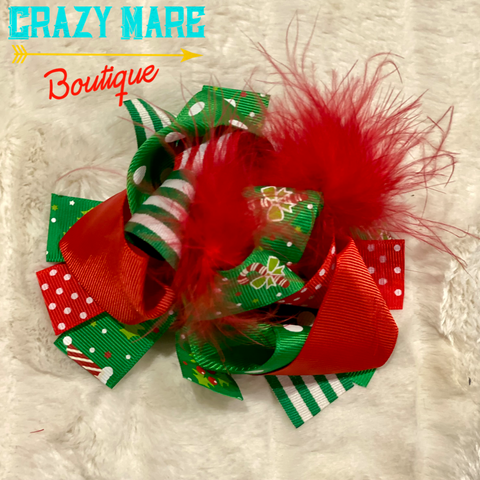 Kid Christmas Bow