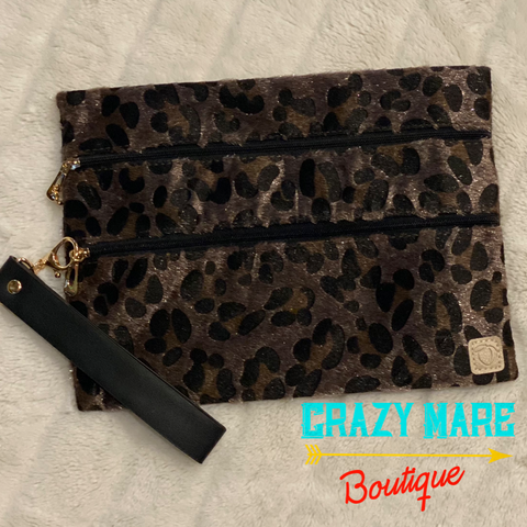 Feeling Fierce Double Zipper Versi Bag