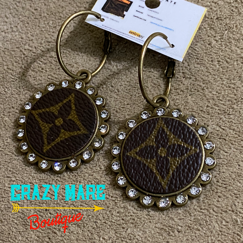 Designer Bling Earrings