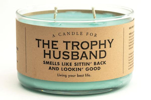 Trophy Husband Candle