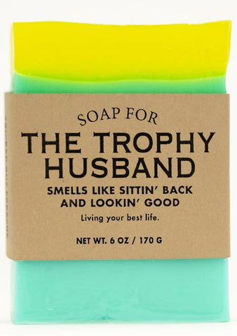 Soap for Trophy Husbands