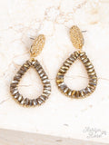 So In Style Drop Earrings, 3 Colors Available!
