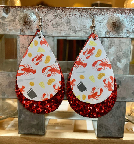 Crawfish Earrings