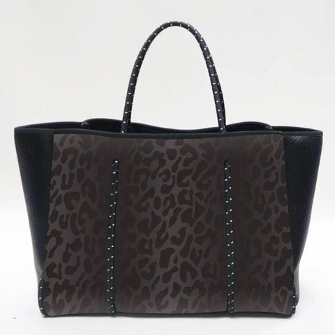 Neoprene Bag - Black Leopard