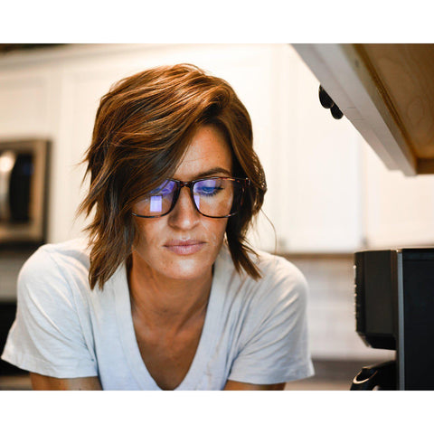 Blue Light Fashion Glasses - Leopard