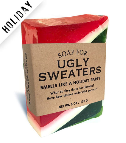 Ugly Sweater Soap