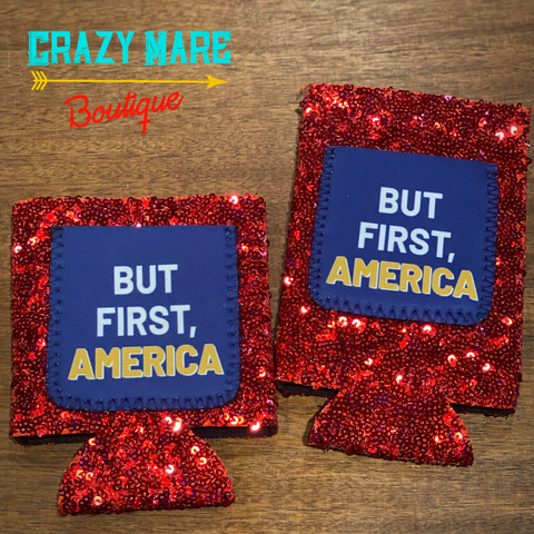 But First America Koozie