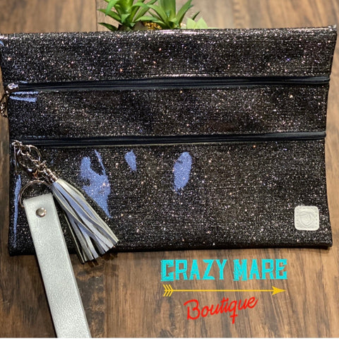 Meet Me at Midnight Double Zipper Versi Bag
