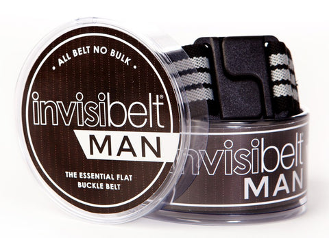 Invisibelt Man Pinstripe Stretch