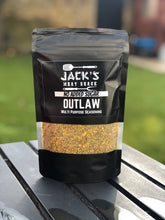 Load image into Gallery viewer, Jacks Meat Shack Dry Rub OUTLAW