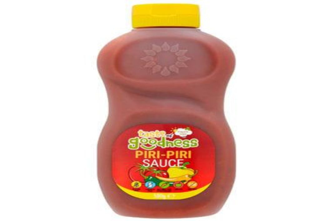 Taste of Goodness Piri Piri Sauce 500g Bottle