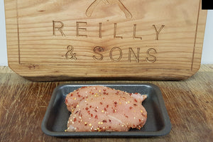 Fresh UK Chicken Fillets in Gold Dust Salt and Pepper