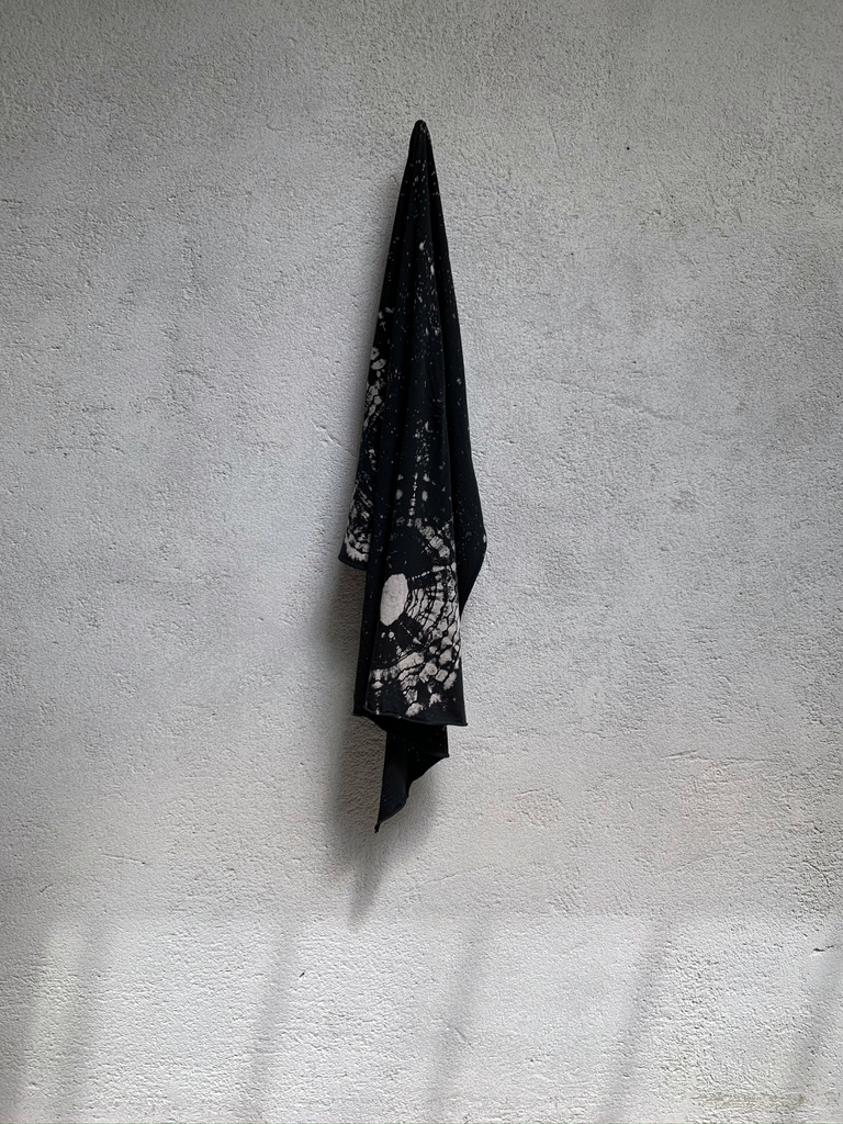Black Constellation Jersey Square Scarf
