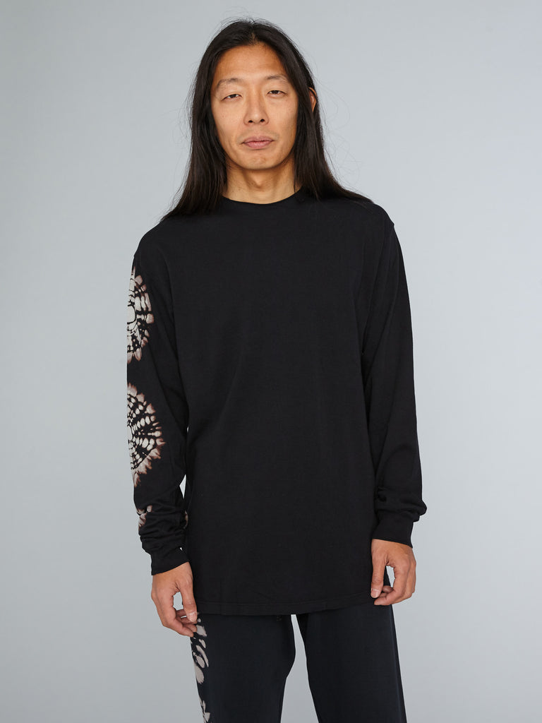 Black Earth Jersey Mens Long Sleeve T-Shirt