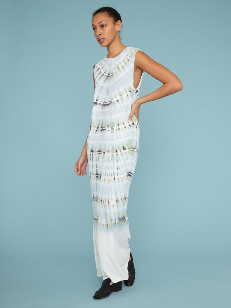 Minty Jersey Muscle Maxi Dress
