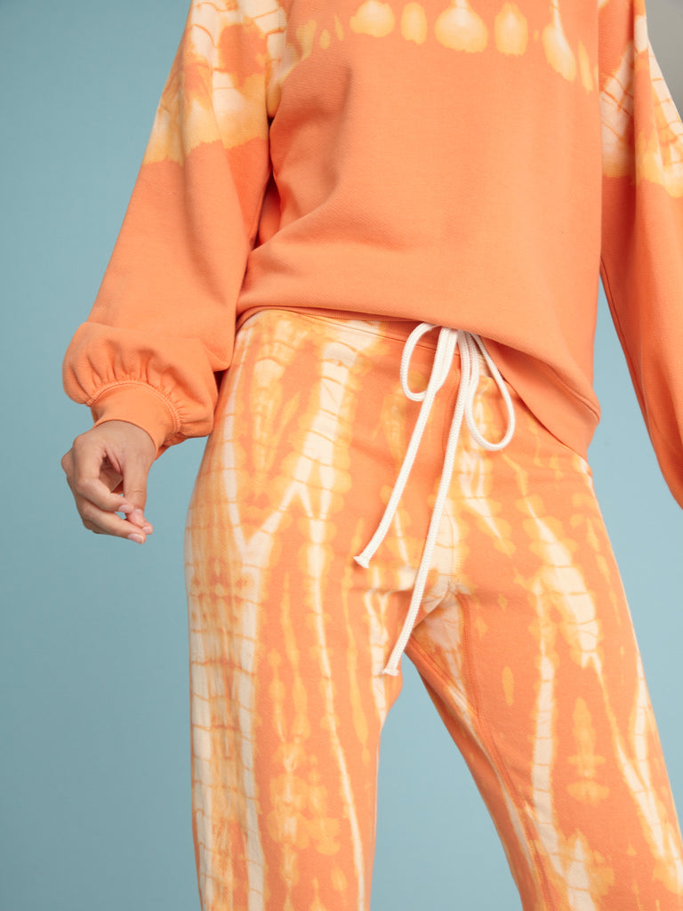 Orange Athletic Sweatpant