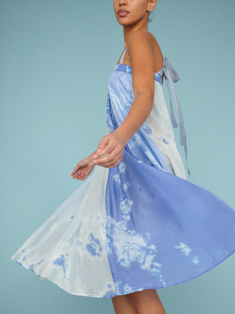 Blue Skies Andromeda Silk Parachute Skirt