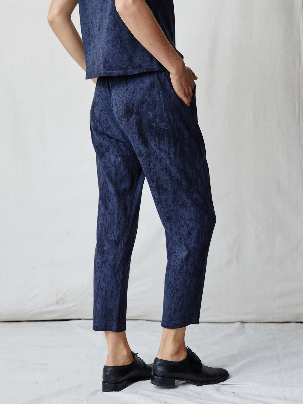 Slate Jersey Easy Pant