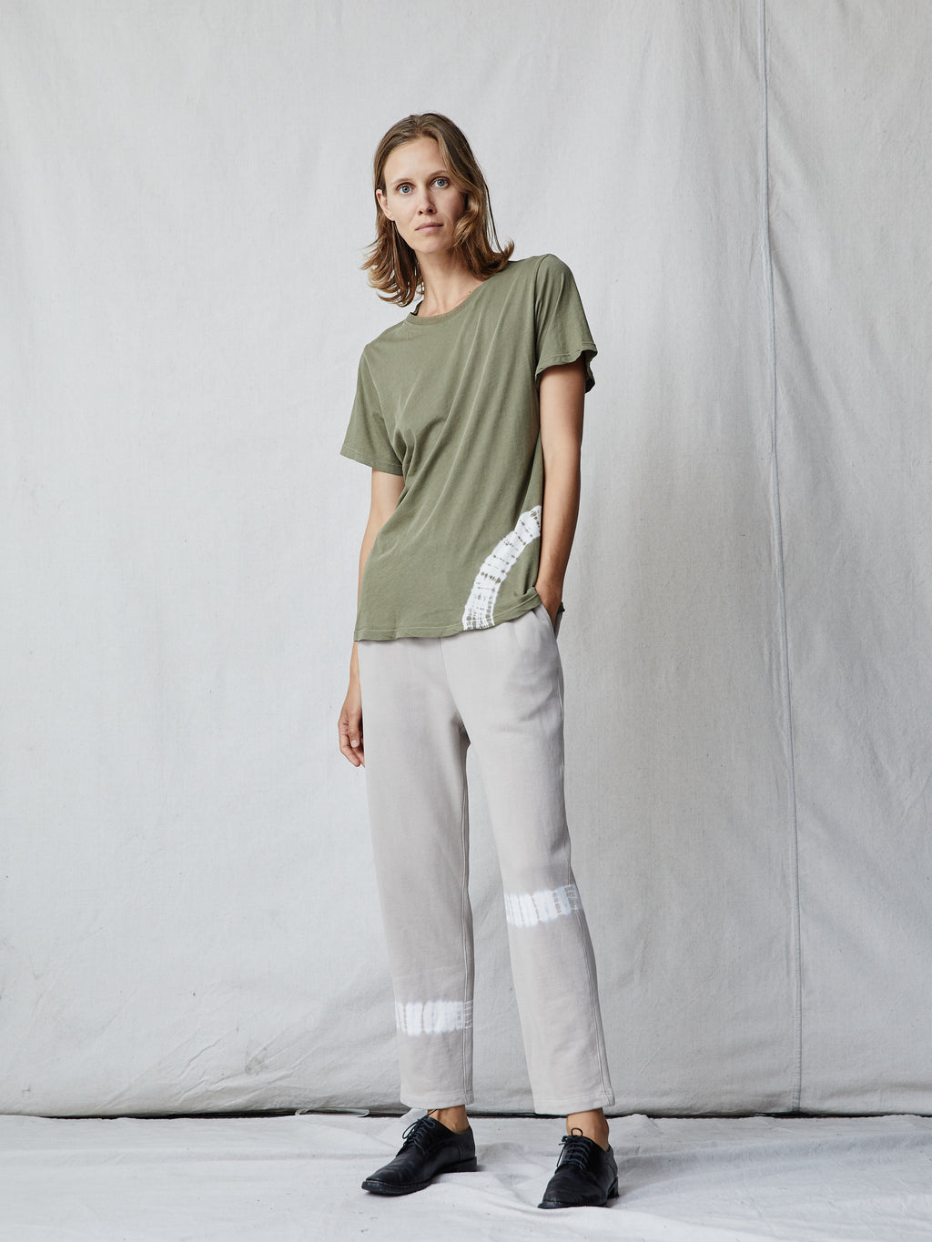 Sage Cotton Medley New Boyfriend Tee